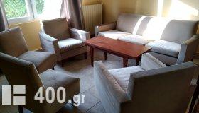 ΣΕΤ Σαλόνι mid century - 1 Καναπές-1 Τραπέζι-2 Πολυθρόνες-2 Καναπεδάκια