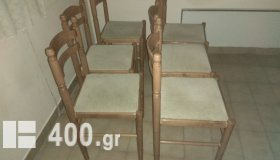 6 καρέκλες τραπεζαρίας