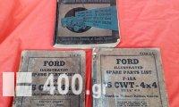 Τρία τεχνικά βιβλία συμμαχικών οχημάτων του β' Παγκοσμίου Πολέμου.