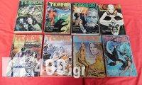8 Τεύχη SUPER TERROR μεγάλο σχήμα της δεκαετίας του '70 & του '80.
