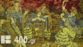 MONADIKOS SILEKTIKOS PINAKAS  TAPISERI ISPANIKOS  GNISIOS TOU 1880